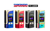 2018 SUPERHERO TC228W  Batteries Box Mod