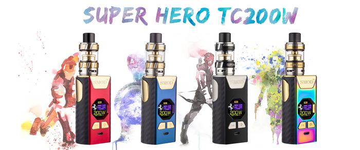 Super heroTC 200w China Vape Suppliers Super Huge Cigarette Electronic Vapor E Vape For Wholesale